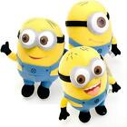 Despicable Me 3D Eyes Minion Toy New Plush Stuffed Soft Toy Kids Gift Set Of 3