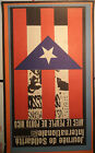 OSPAAAL Political Poster 1967 JOURNEE DE SOLIDARITE Puerto Rico FRENCH ART TARE