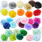 "5 pack Paper Tissue Pom Poms 8"" 10"" 12"" 14"" 16"" Wedding Party Flower pcs"