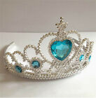 UK SELLER NEW LOVELY PRINCESS SNOW QUEEN ELSA COSTUME TIARA CROWN/ GLOVES U PICK