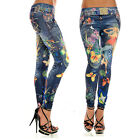 Stylish Hot Sale New Women Jean Jeggings Stretchy Slim Tights Skinny Pants 022