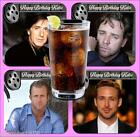 HOLLYWOOD HEARTHROBS BIRTHDAY COASTERS PERSONALISED FREE OF CHARGE