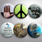Greenpeace Pin Buttons Save Nature Animals Planet Badges Pinback Button Pinbacks