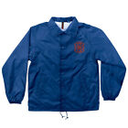 "New INDEPENDENT Skateboard Trucks ""Crusher"" Windbreaker Coach Jacket (Royal)"
