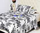 1 or 3 pcs 19MM 100% Silk Duvet Cover Printed Silk Quilt Cover Pillow shams Set