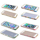 Luxury Crystal Rhinestone Bling Aluminum Metal Bumper for iPhone 5 5S