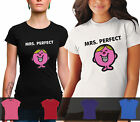 LADIES Mrs Perfect Tshirt cotton
