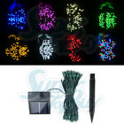 LED Solar String Light - 60/100 LEDs 8 Color Christmas Xmas Wedding Tree Party