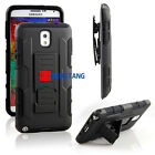 Hybrid Rugged Future Armor Impact Hard Case Stand Cover With Belt Clip Holster