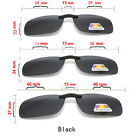 Clip On Specs Car Driving Polarized Sunglasses 100% UVA & UVB Outdoor BLACK