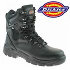 MENS DICKIES STEEL TOE CAP SAFETY COMBAT POLICE MILITARY TRAINER BOOTS SHOES UK