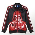 Boys adidas Star Wars Darth Vader Firebird Track Jacket Top TT S14435 Black Rare