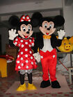 NEW For Mickey and Minnie Mouse Mascot Costume Fancy Dress Halloween
