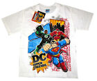 DC SUPERFRIENDS SUPERMAN FLASH GREEN LANTERN t-shirt Sz 6-8-10-12, 3-8y FreeShip