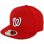 New Era 59FIFTY Fitted MLB AC YOUTH On Field Washington Nationals Home Cap