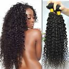 Hair Weft virgin hair Curly Natural color