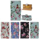 Peony Flower Wallet Stand Flip Leather Cover Case For Sony Xperia M2 Tide