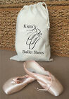 YOUR NAME Personalised Cotton Ballet Shoes Bag - 2 Sizes Available (KIERA)