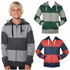 BILLABONG Boys EQUIP Fleece Zip Hoodie Hoody Jumper (12 14 16) NEW