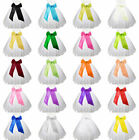 NEW Flower Girls Sash/Ribbon Chiffon White-Creme-Red +Many colours to choose!