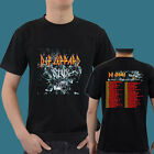 Def Leppard Tesla Styx On This Summer Tour Date 2015 Tee T - Shirt S M L XL 2XL