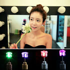 1 Pair Light Up Led Blinking Earrings Studs Dance Party Accessories Tide