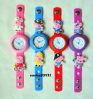 PEPPA PIG NEW STYLE JIBBITZ BAND WATCH  & 2 CHARMS, BRAND NEW