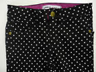 BNWOT Girls Black Quality Skinny Jean Style Trousers with Tiny Stars Ages 4 - 11