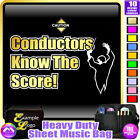 Conductor Know The Score - Sheet Music & Accessories Custom Bag by MusicaliTee