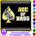 Tuba Ace Of Bass - Personalised Music T Shirt 5yrs - 6XL by MusicaliTee