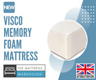 NEW VISCO FOAM HIGH DENSITY HEALTH MATRESS - IDEAL FOR BACK PAINS - COVER!!