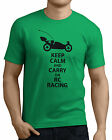 Keep Calm and Carry on RC Racing, Nitro Buggy/car Racing Funny T-Shirts.