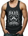 DADD Dads Against Daughters Dating - Father's Day Guns Men's Tank Top T-shirt