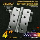 "(3-pack) 4"" x 3"" SUS304 Stainless Steel Extra-thick Ball Bearing Door Hinges"