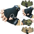 Fashion Cycling Mountain Bike Bicycle Riding Sports Exercise Half Finger Glove