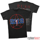 RUSH T-Shirt 2112 Tour 1976 Brand New Authentic Rock Tee S M L XL 2XL 3XL image