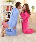 Unisex Adult Pajamas Kigurumi Cosplay Animal Onesie Sleepwear Suit Stitch