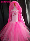 Pinkie Pie My little pony (Inspired) dress costume Hooded cape ages 3-12