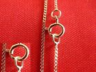 """9ct  Gold Curb Chains 16""""18""""20"""" U.K. Made, best selling curb chain on ebay !"""
