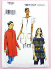 Vogue V8924 Sewing Pattern Misses' Pullover Tunic - Loose Fitting - Very Easy