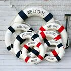 1 X Decorative Lifebuoy Life Ring Home Decoration Nautical Wall Hanging Marine