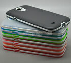 Ultra-Thin Translucent Soft TPU+PC Bumper Case Cover For Samsung Note 2 3 S4 S5