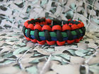 Royal Irish Fusiliers 550 Paracord Survival Bracelet / Dog Collar