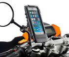 Motorcycle 8-16mm Mirror Bike Mount with Waterproof Case for Apple iPhone 6 4.7