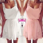 New Fashion Summer Women's Casual Dresses Sleeveless Cocktail Short Mini Dress