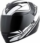 Scorpion EXO-T1200 Full Face Freeway Graphic White Free Size Exchanges