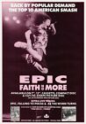 FAITH NO MORE Epic PHOTO Print POSTER The Real Thing Sol Invictus Mike Patton 05