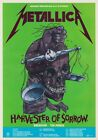METALLICA Harvester Of Sorrow - Justice For All '88 UK Tour PHOTO Print POSTER 5