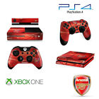 XBOX ONE AND PS4 OFFICIAL FOOTBALL CLUB SKINS CONSOLE AND CONTROLLER DECALS NEW!