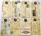 Hang Tags  PRIMITIVE GRUNGY DOCUMENTS MIXED TAGS #T 39  Gift Tags